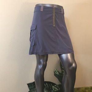 Slate Grey TITLE NINE pleates skirt, size 6